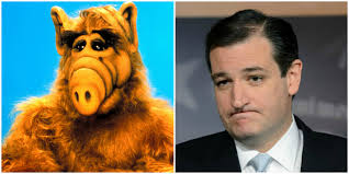 Ted Cruz and Alf