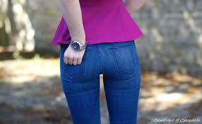 Skinny Jean Butt