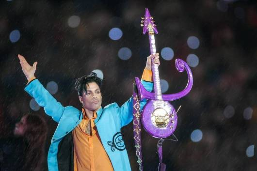 PrinceSuperBowlRaining
