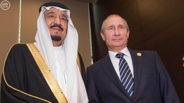 Putin and Salman